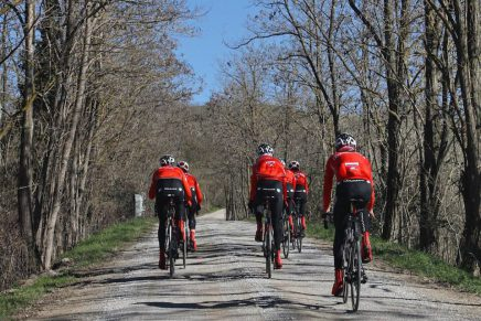 RusVelo hit the Strade Bianche