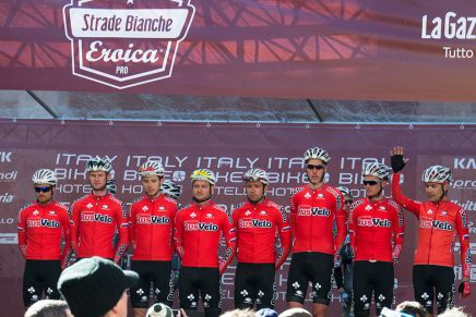 RusVelo do themselves proud on the Strade Bianche