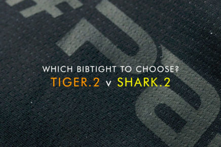 What is the difference between the Tiger.2 and Shark.2 bibtights?